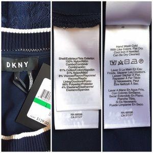 DKNY Tops - DKNY • Lined Lace Top